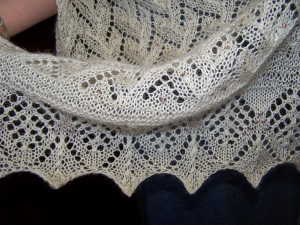 Estonian Shawl - Kate