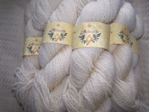 Romney yarn - 200 yard skeins