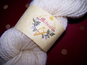Meduseld worsted romney yarn