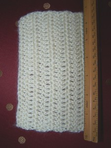 Worsted Romney Crocheted