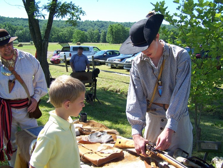 Kentucky Long Rifle Demonstration