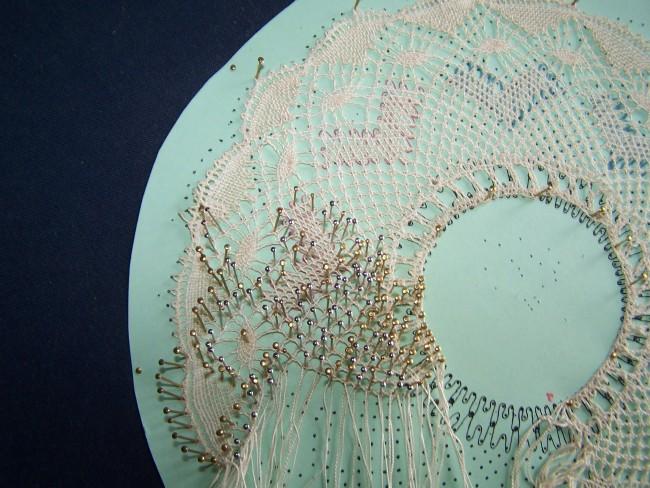 bobbinlace closeup