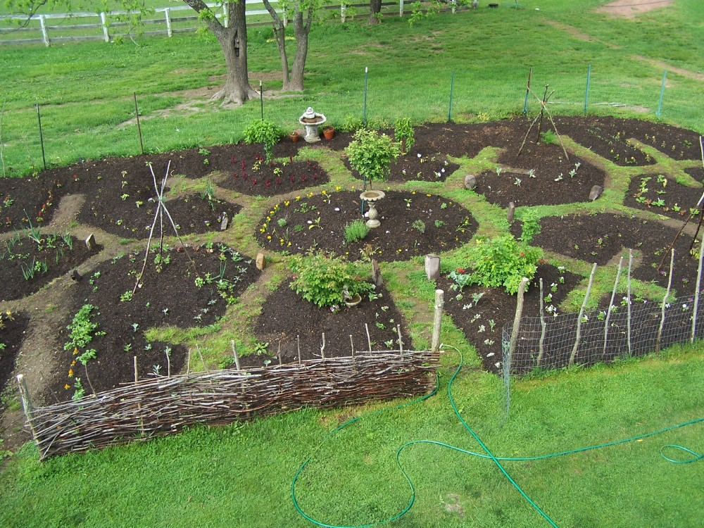 Permaculture garden progress and projects meduseld for Jardin permaculture