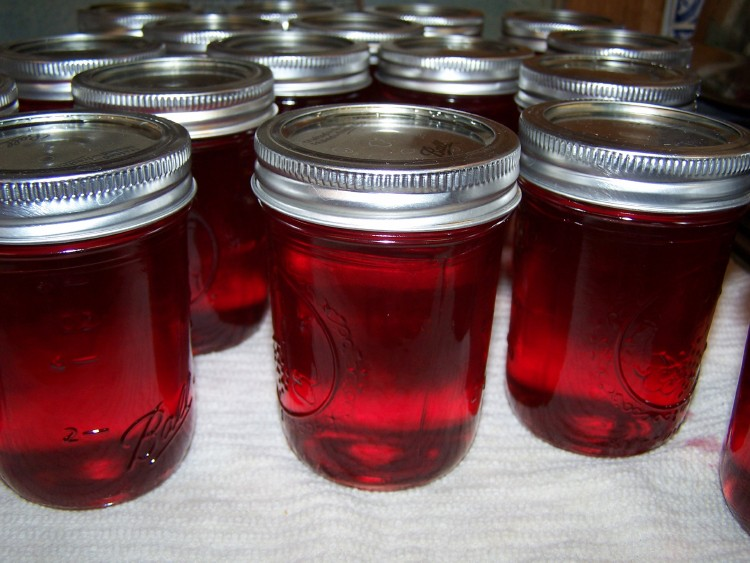 rose jelly done