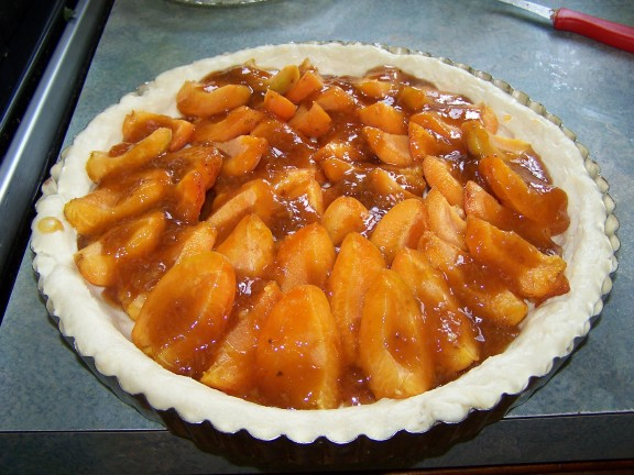 Moor Park Apricot Tart Ready for the Oven