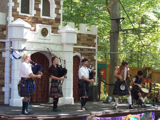 Scottish Bagpipes and Drums