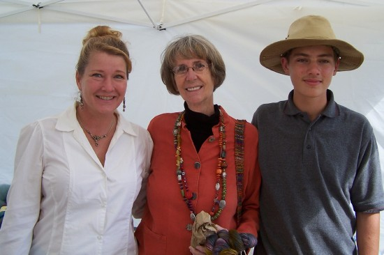 Patricia Culver, Sue Groundwater and Gavin Culver