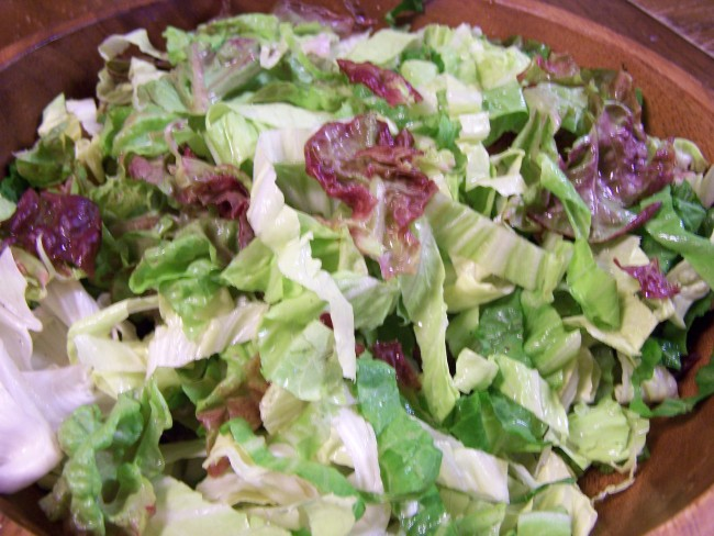 White Radicchio and Lettuce of Four Seasons
