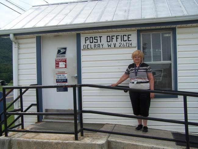 Edna, the last Delray Post Master