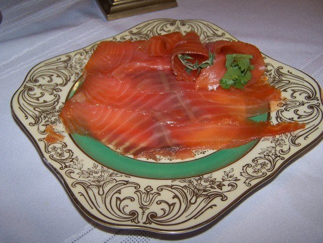 Smoked Salmon done in Umai Bag