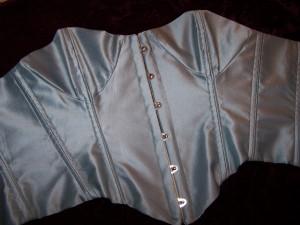 Silk Victorian Style Corset