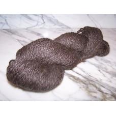 Brown Alpaca Romney Yarn - Bulky