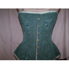 Civil War Moire' Corset