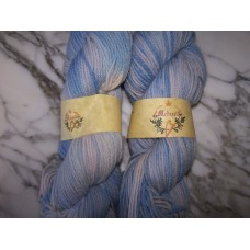 Friesian Wool Yarn - Baby Blue