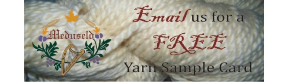 Banner Free Yarn Card