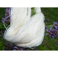 Fingering Lace Yarn - Romney - Skein