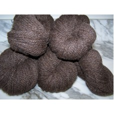Romney/Alpaca 90/10 - Natural Brown - Worsted